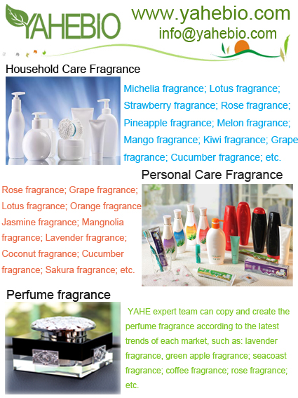 China Fragrance Supplier; High quality